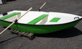 Rybářská pramice- člun ( dvoj plášť )